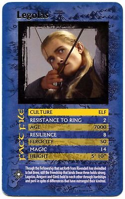 Legolas - The Lord Of The Rings The Return Of The King Top Trumps Card (C451)