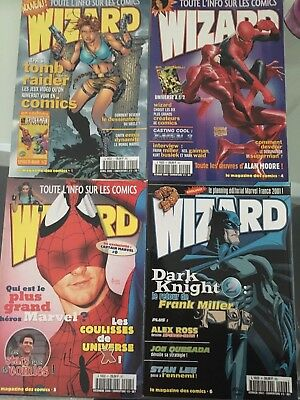 Lot 11 Magazines Wizard + 8 supléments wizard