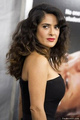 Salma Hayek With Red Lips 8x10 Picture Celebrity Print