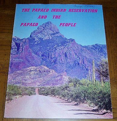 Unique The Papago Indian Reservation & The Papago People- Sc Book-Tohono O'odham