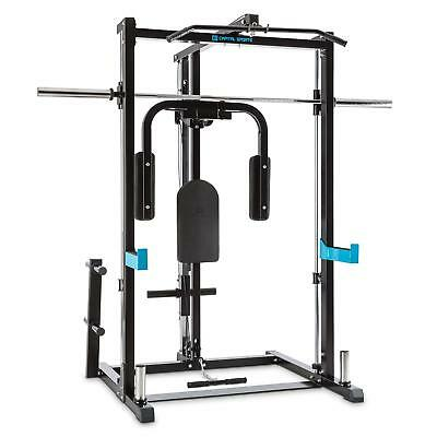 Capital Sports Half Rack Inclusor Butterfly Vogatore Cavi Incrociati Manubrio