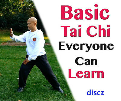 LEARN TAI CHI DVD Relaxation Exercise Beginners Fitness Health Mind Body Stress