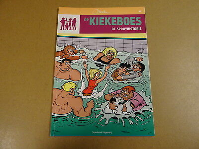 STRIP / DE KIEKEBOES 42: DE SPRAY-HISTORIE | Herdruk 2010