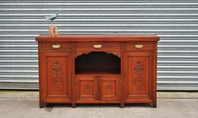 Large Antique Mahogany Sideboard.