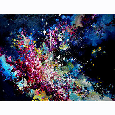 Canvas Painted Oil Painting Wall Melissa McCracken Color abstract Impression 2