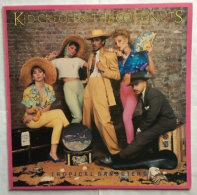 Kid Creole & The Coconuts - Tropical Gangsters - Ze Records Vinyl LP EX/VG+/VG+
