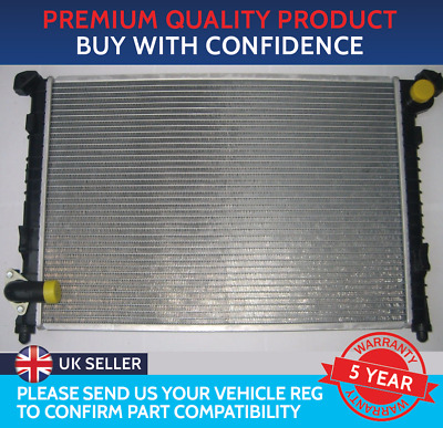 Brand New Radiator Mini One / Cooper R50 / R52 With Air Con (Straight Top Hose)