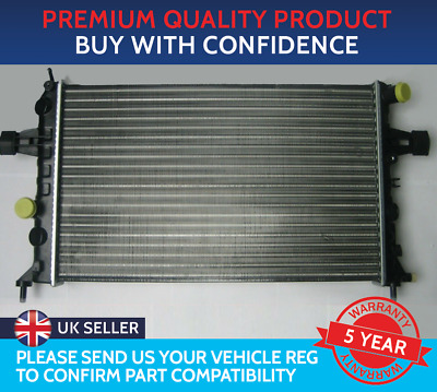 Brand New Radiator Vauxhall Astra G Mk4 / Zafira A Petrol Manual With Air Con