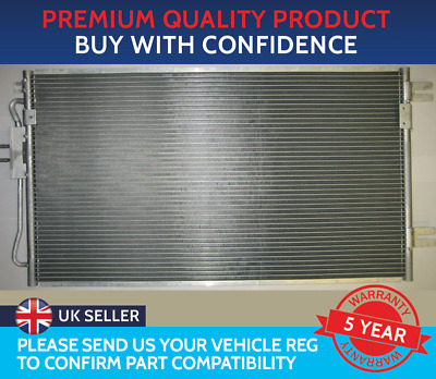 Condenser Air Con Radiator To Fit Chrysler Grand Voyager Voyager Crd Diesel