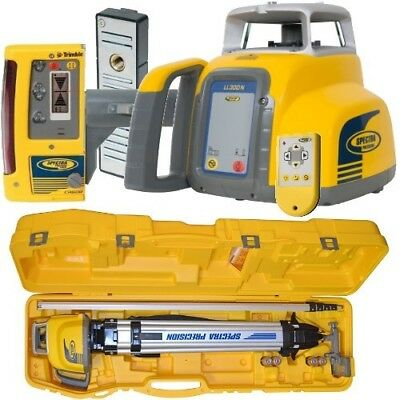Spectra Laser Level LL300N with CR600 Reciever Excavation Kit