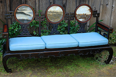 ANTIQUE CHINESE FURNITURE - 19th CENTURY VINTAGE SOFA/COUCH