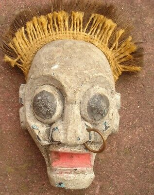 Small Wood Mask From Bali