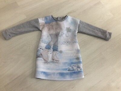 Girls Designer Mayoral Jumper Dress Age 2 Years Vgc