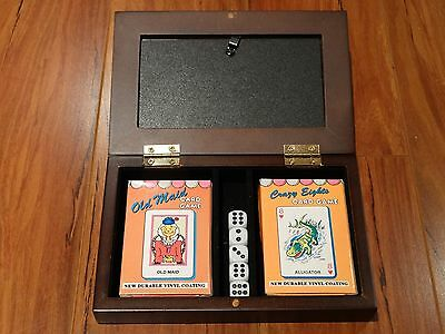 Old Maid Card Set Complete With Crazy Eights Vintage Card Set Complete With Case