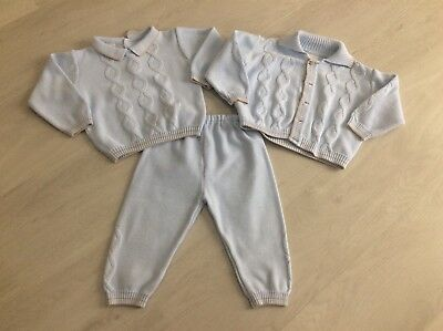 Boys Designer Pretty Originals Outfit Top Cardigan And Pants Age 24 Months