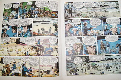 Fort Navajo Aventure Lieutenant Blueberry L'aigle Solitaire Charlier Giraud Bd