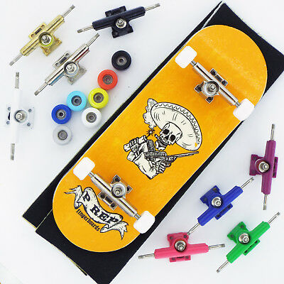 P-REP 34mm Bandito Complete Wooden Fingerboard - Pick Trucks and Wheels