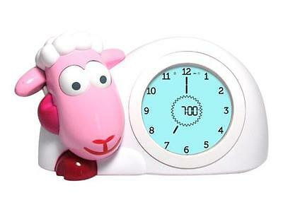Zazu Sam the Sheep Sleep Trainer Clock - Pink