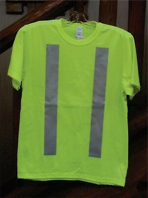 High Visibility T-Shirt With Reflective Striping - Yellow