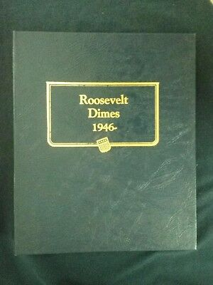 Complete (153) Coin Roosevelt Dime Set, 1946-2003! With 1968s-1997s Proofs!