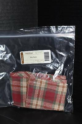 Longaberger Medium Key Over the Edge Liner in Orchard Park Plaid - NEW