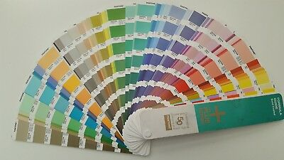 PANTONE The PLUS Series Formula Color Guide SOLID COATED Book - Used