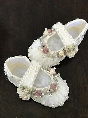 baptism shoes, Ivory shoes, christening shoes, baby baptism shoes