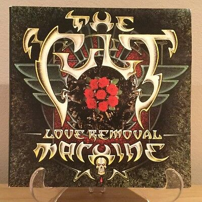 "The Cult - Love Removal Machine 2 x 7"" Set Goth Rock Punk Post Punk"