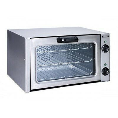 Quarter Size Convection Oven, 120 volts, Stailess Steel,  Adcraft COQ-1750W