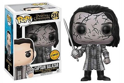 funko pop pirate des caraibes 274 captain salazar chase
