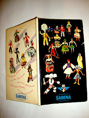 Sabena Belgium Airline Super Dc-6. Air Route Safety. Brochure