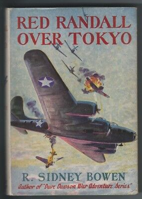 RED RANDALL OVER TOKYO Air Adventures Hardcover w/DJ Bowen