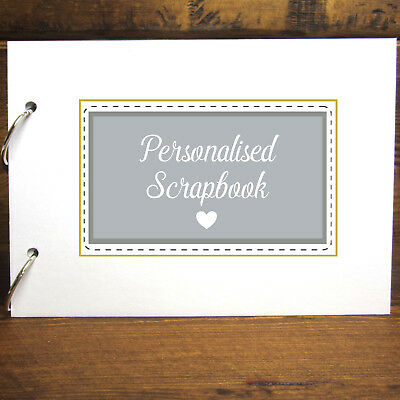 Personalised Refillable A4/A5 DIY Scrapbook, Guestbook, Photo Album, Keepsake