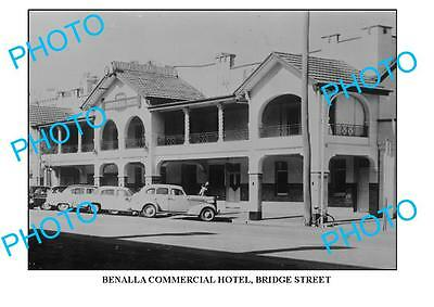 Large Photo Of Old Benalla Commercial Hotel, Victoria