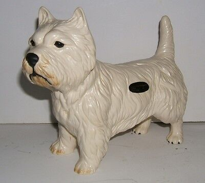 Coopercraft West Highland White Terrier made in England  Cute Westie