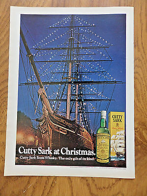 1972 Cutty Sark Scots Whiskey Whisky Ad