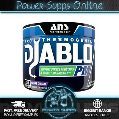 ANS Performance Diablo PM Thermogenic Fat Burner - Sleep Aid - Stress Support