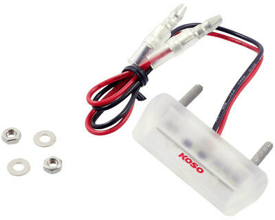 LED license plate light KOSO drop in white