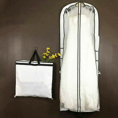Anti-Dust 1 Pcs Wedding Dress Storage Clothes Bag Bridal Gown Garment Cover ZB