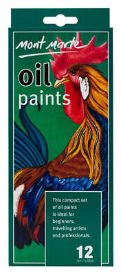 Mont Marte Oil Colours Packet of 12