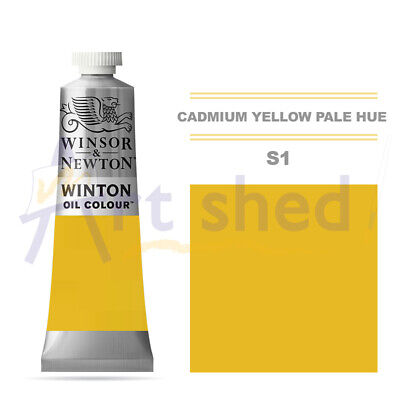 Winsor & Newton Winton Oil Colour 37ml - Cadmium Yellow Pale Hue