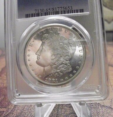 1881-S Morgan Dollar PCGS MS65 Gem + Mirrors. Video Images