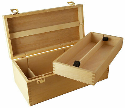 Mont Marte Storage - Artists Storage Box Beech Wood