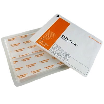 Cica-Care Silicone Gel Sheets Scar Reduction 15cm x 12cm x10