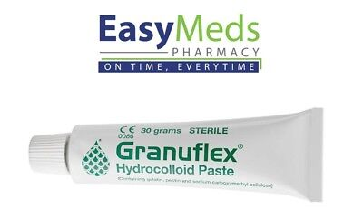 Granuflex Paste 30g Hydrcolloid S128 Ulcers/Burns/Wounds/Abrasions