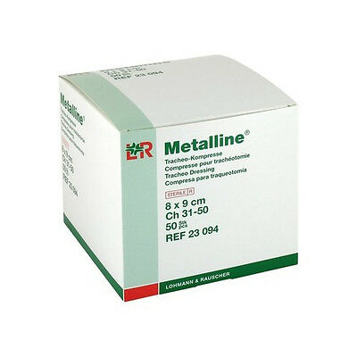 Metalline Tracheo Wound Contact Layer Dressing 8cm x 9cm