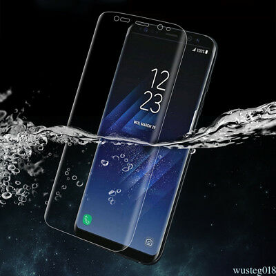 Anti-shock Soft TPU Screen Protector Skin Front Cover Film For Samsung Galaxy S8