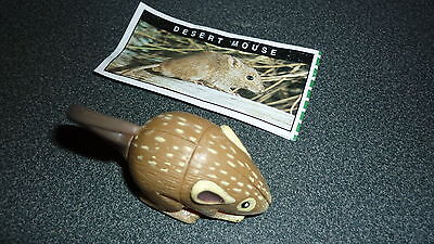 Colectable Australian Yowie Toy With Papers, Desert Mouse