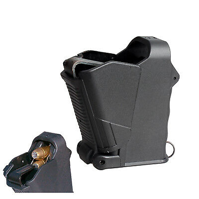 Universal Pistol Magazine Speed Loader With Unloader Airsoft 9mm to .357 .45ACP