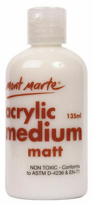 Mont Marte Acrylic Medium - Matte 135ml
